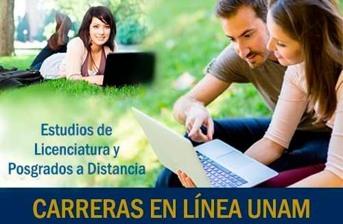 Licenciaturas en Línea UNAM y Posgrados a Distancia