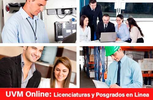 UVM Online: Licenciaturas, Especialidades y Maestrías en Línea