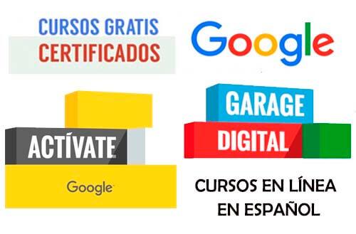 Cursos Gratuitos Online de Google con Certificado