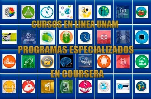 Cursos Online UNAM en Coursera