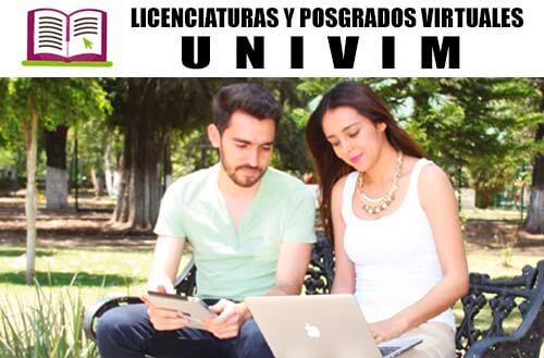 Licenciaturas y Posgrados de la UNIVIM