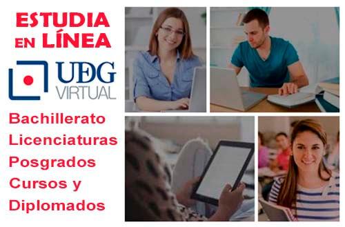 Carreras en Linea UDG - UDGVirtual