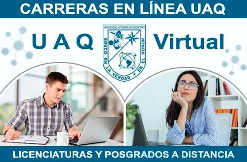 Carreras en Línea UAQ - Licenciaturas y Posgrados a Distancia