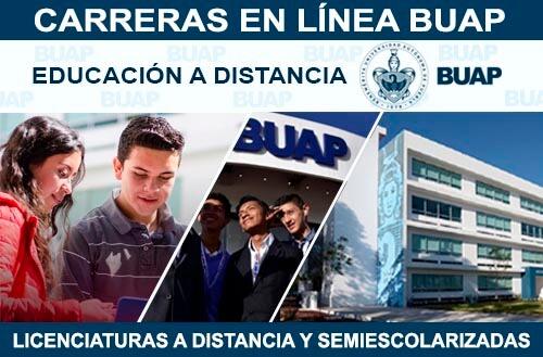 Carreras en Línea BUAP - Licenciaturas a Distancia y Semiescolarizadas